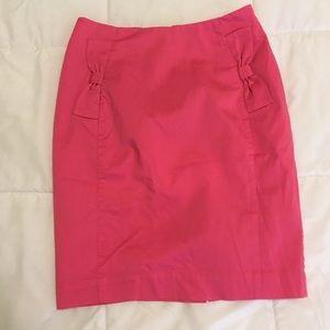 H&M Pink Pencil Skirt